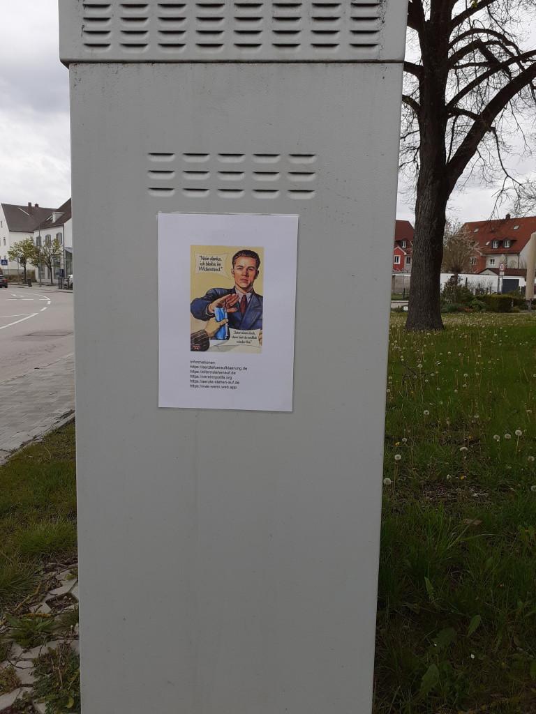 Plakat Anti-Impf-Propaganda 1